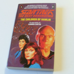 Star Trek The next generation The Children of Hamlin paperback book Carmen Carter